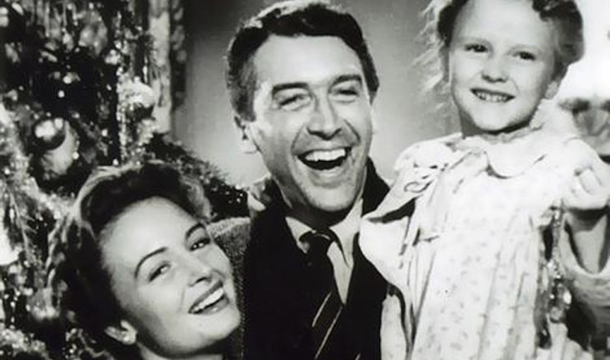 """It's a Wonderful Life"" in all its black-and-white glory."