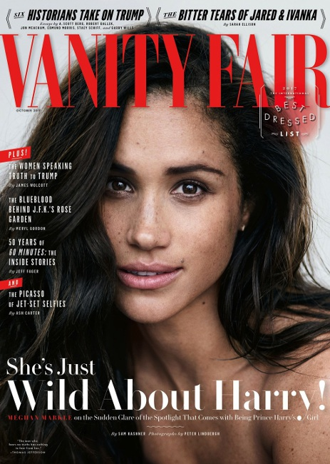 The Vanity Fair cover said it all!
