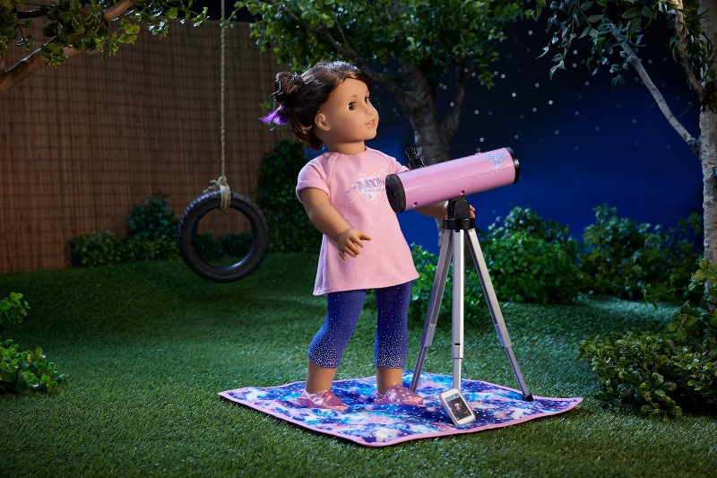 New American Girl doll Luciana Vega aspires to travel to Mars.