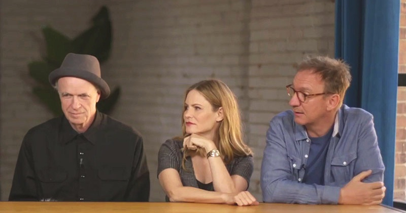 "The ""Anomalisa"" cast: Tom Noonan, Jennifer Jason Leigh, and David Thewlis."