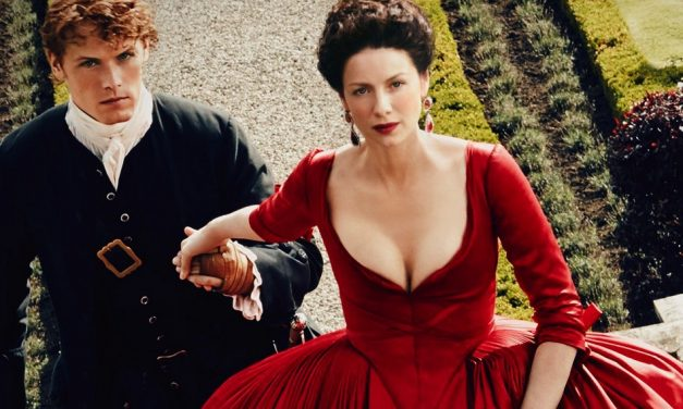 Scarlet Seduction: Tonner's new 'Outlander' doll is the ultimate Lady in Red