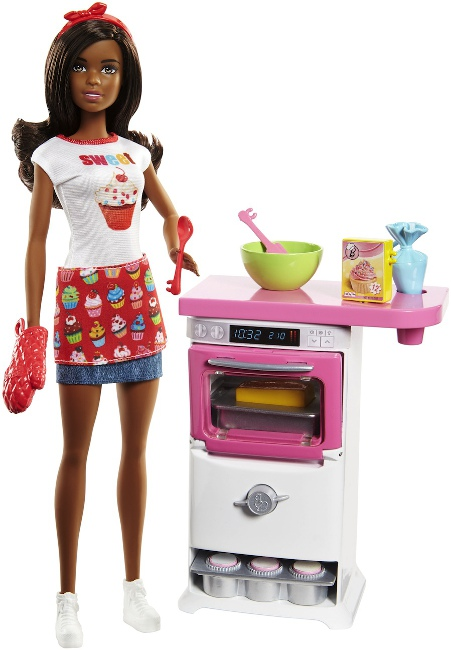 Barbie as a Bakery Chef