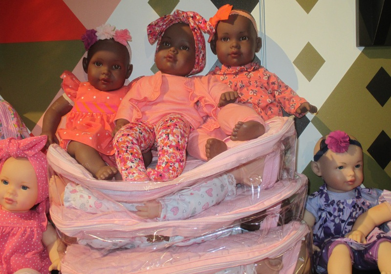 FAO Schwarz African-American baby dolls