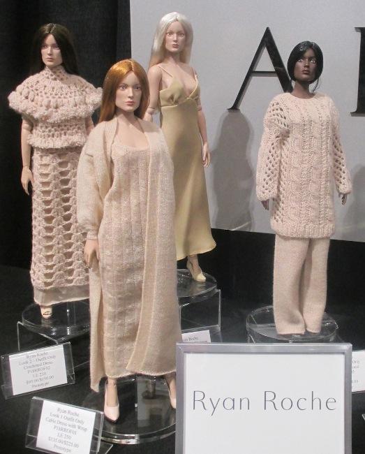 Ryan Roche line of knitwear for dolls.