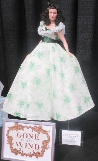 Scarlett O'Hara in the legendary barbecue costume
