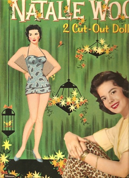 1958 Natalie Wood paper doll