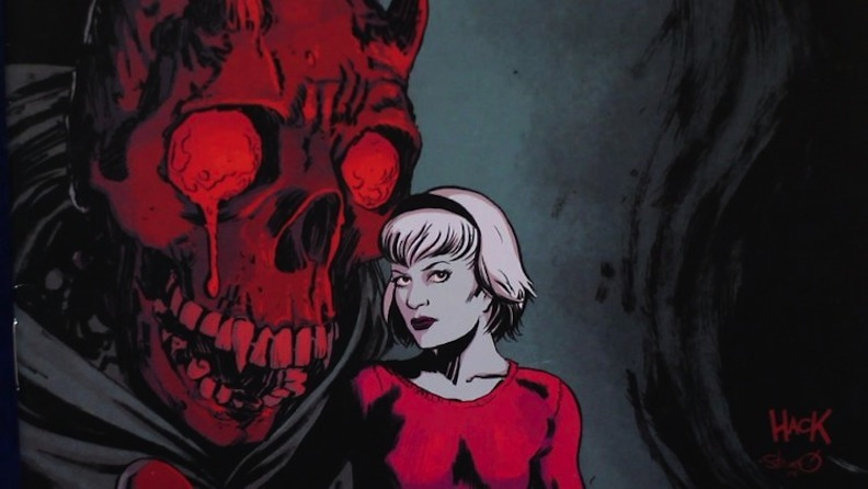 """There are many mature elements to the reboot of Sabrina. """"Chilling  Adventures of Sabrina"""" is chilling, indeed. (Courtesy of Archie Horror, ..."""