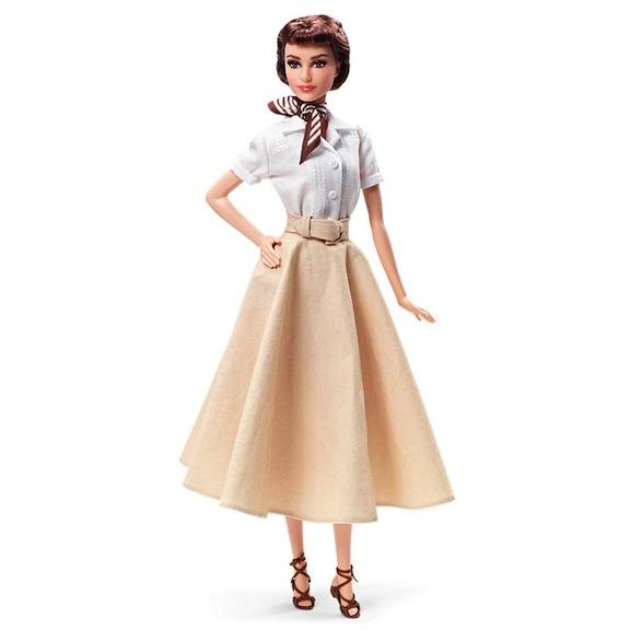 2013 Mattel Roman Holiday Audrey Hepburn doll