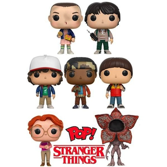 "Funko Pop Vinyls ""Stranger Things"""