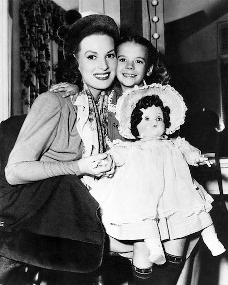 Natalie Wood and Maureen O'Hara