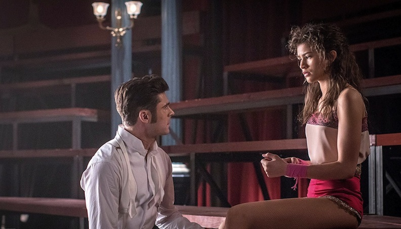 "Zac Efron and Zendaya as Phillip and Anne in ""The Greatest Showman"""