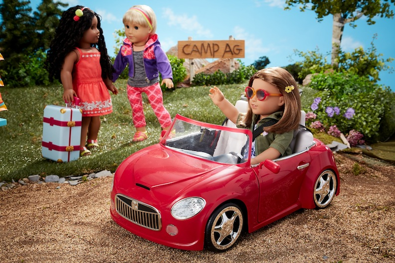 American Girl remote-controlled car