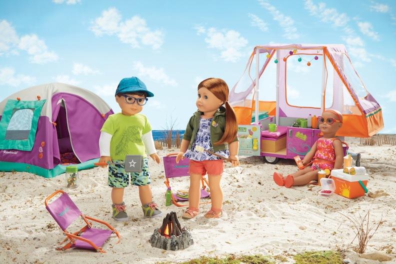 Beach Camp American Girl