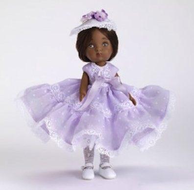 """""""Sweet Violet"""" Nancy Ann Storybook Doll"""