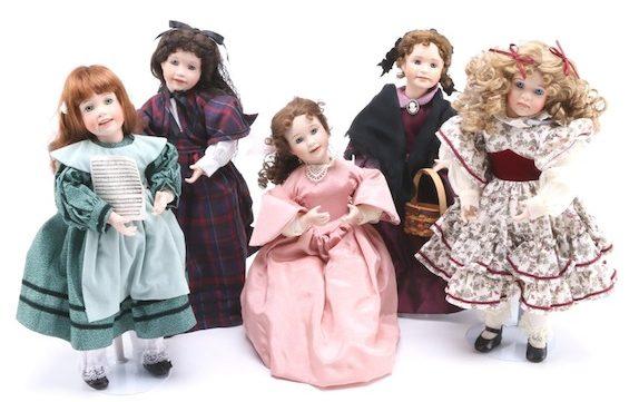 Ashton Drake Little Women dolls