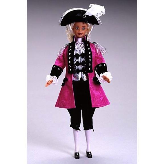 Barbie as George Washington