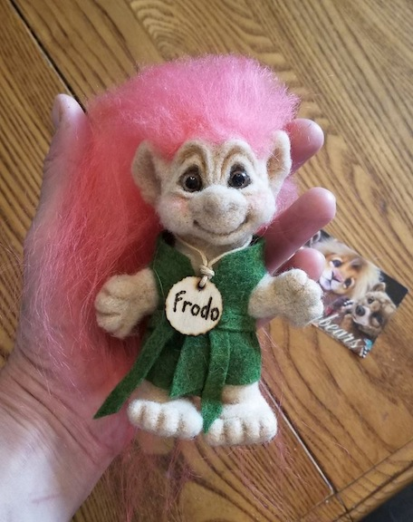 Frodo Troll Doll by Judi Paul