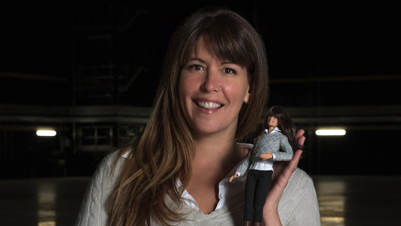 Patty Jenkins and Shero doll