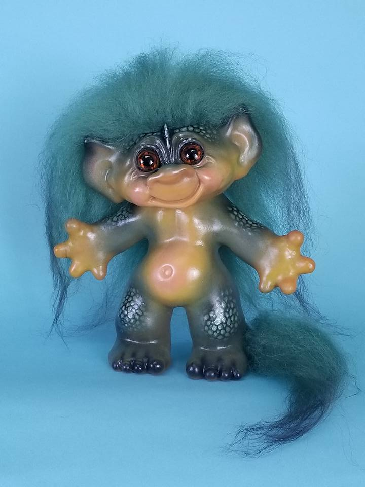 Shape of Water troll doll
