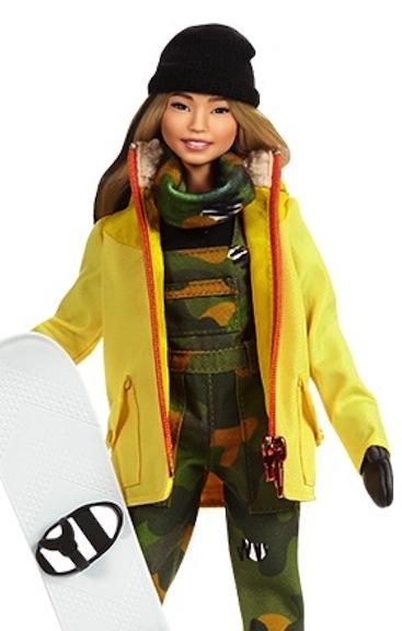 Chloe Kim Shero doll