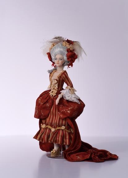 """Anna Maryina's """"Angelique"""" doll"""
