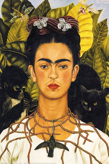 Frida Kahlo with Thorn Necklace
