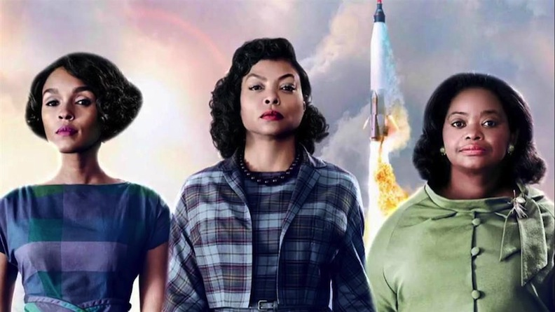 The cast of Hidden Figures