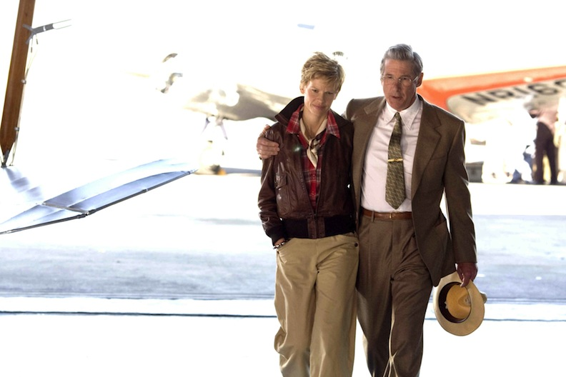 Hilary Swank as Amelia Earhart