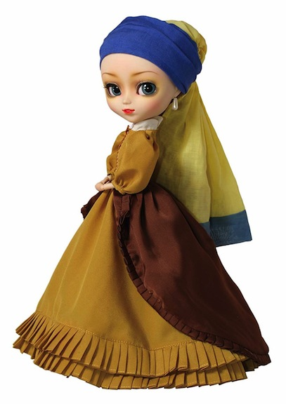 "Pullip version of Vermeer ""Girl with Pearl Earring"""