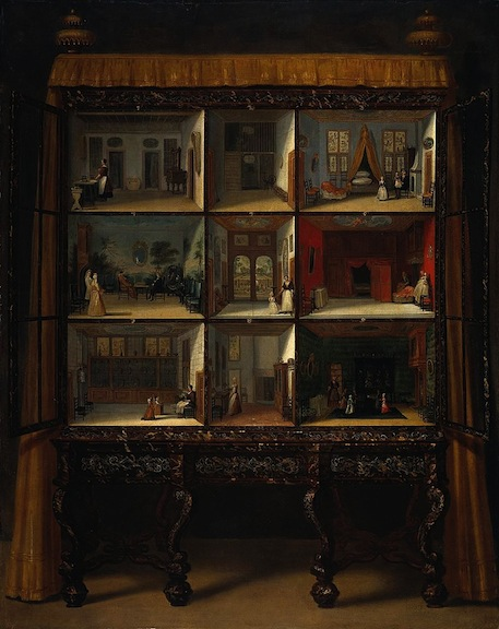 Jacob Appel dollhouse painting