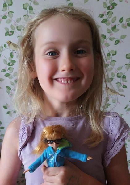 Allie Weber and Robot Girl doll