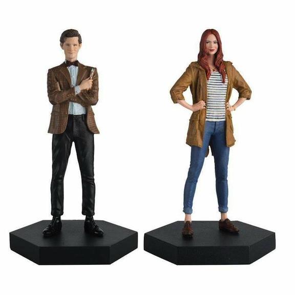 Dr. Who #11 and Amy Pond set
