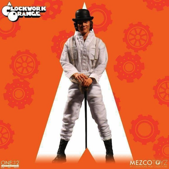 Mezco Clockwork Orange at Megalopolis