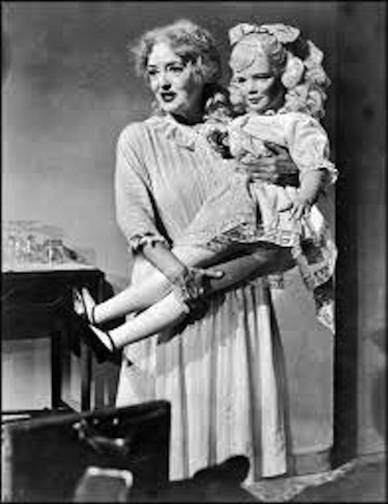 Bette Davis and Baby Jane doll
