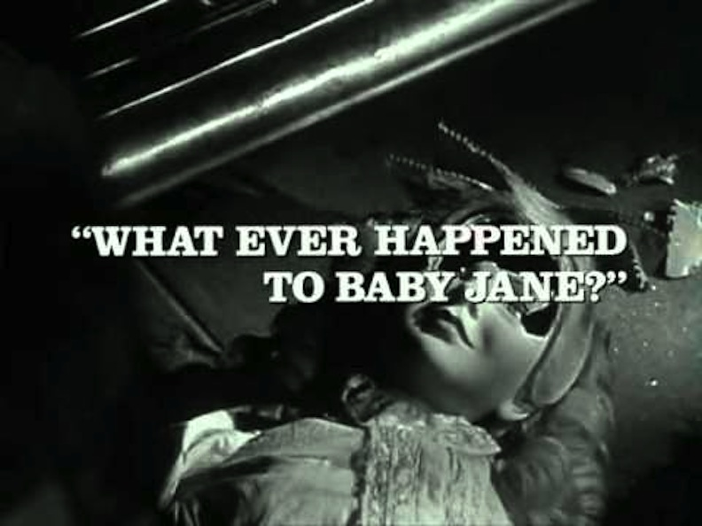 """Title sequence of """"What Ever Happened to Baby Jane?"""""""