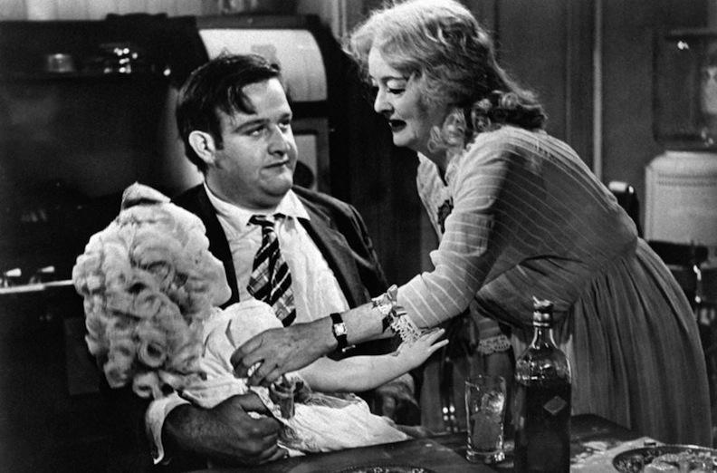Victor Buono and Bette Davis