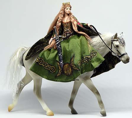 Rhiannon, Celtic Goddess by Anna Maryina