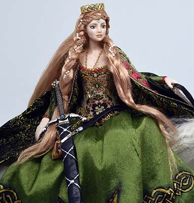 Rhiannon, Celtic Goddess closeup