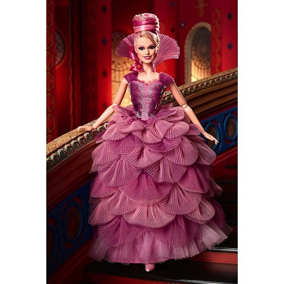 Keira Knightley doll of Sugar Plum Fairy