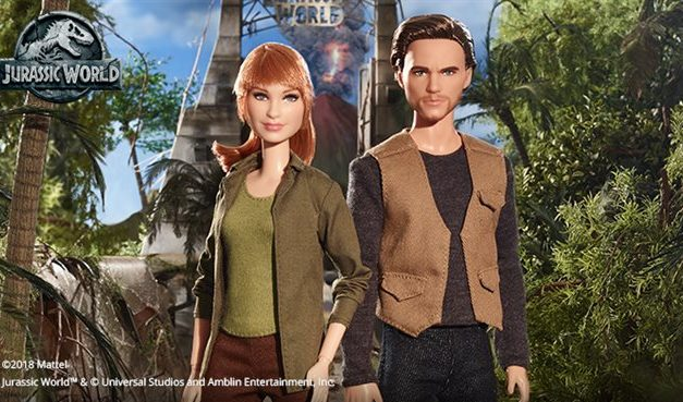 Little Dolls, Big Adventures: 'Jurassic World' is next evolution in portrait dolls
