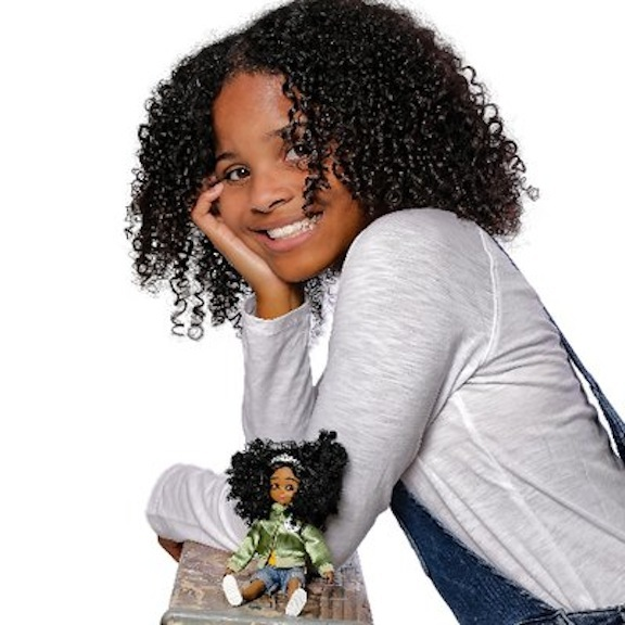 Mari Copeny and her Lottie Doll version