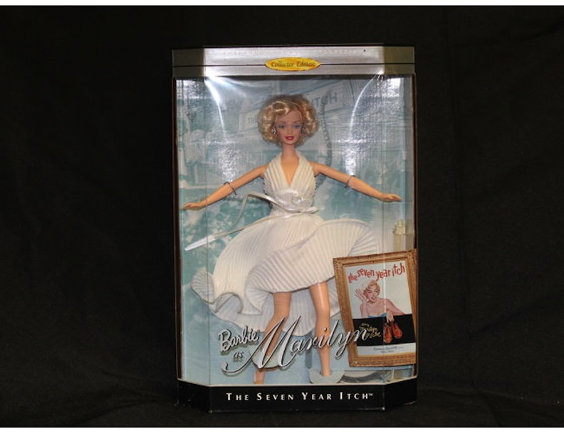 Barbie as Marilyn Monroe 2019 Rehab online auction