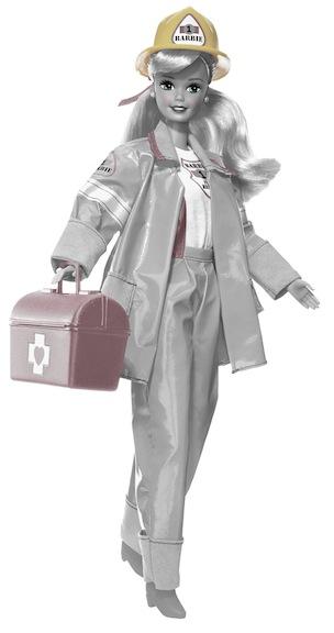 1995 Barbie Firefighter