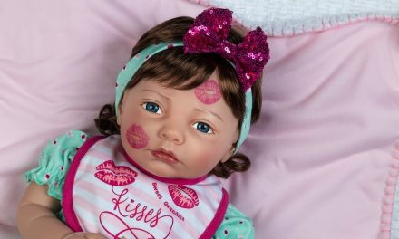 Be My Baby: Paradise Galleries' Sweet Kisses doll is a Valentine delight