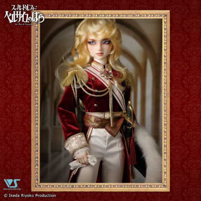 Volks' Super Dollfie Lady Oscar, Colonel de la Garde Royale © Ikeda Riyoko Production 「創作造形©ボークス・造形村」 © 1998-2019 VOLKS INC. All rights are reserved.
