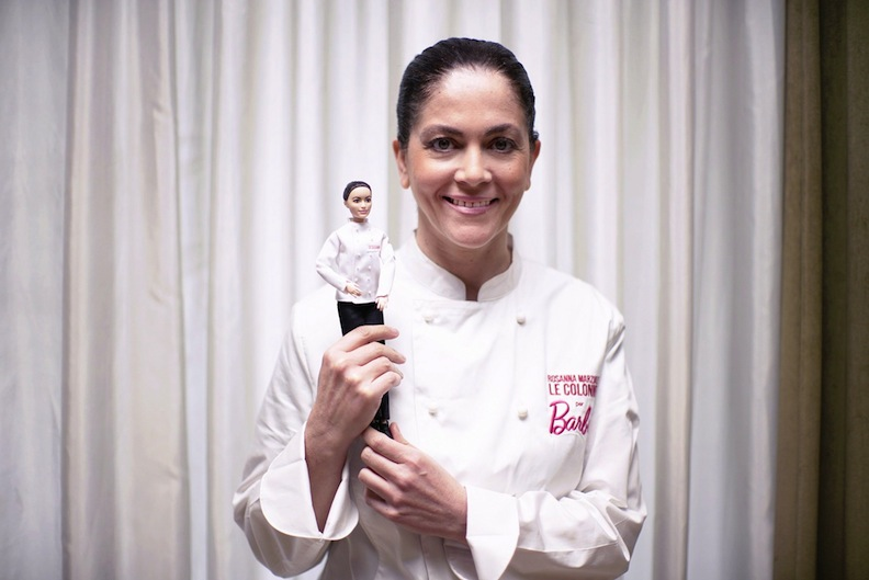 Rosanna Marziale and her Shero doll for 2019