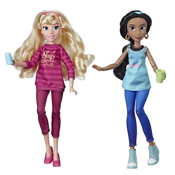 Disney Princess Ralph Breaks the Internet Movie Dolls Aurora and Jasmine