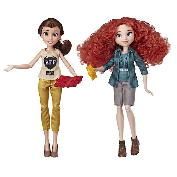 Hasbro's Disney Princess Ralph Breaks the Internet Movie Dolls setBelleandMerida