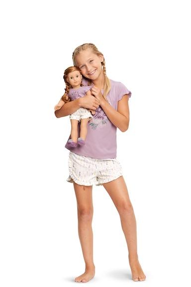 Blaire's American Girl pajamas