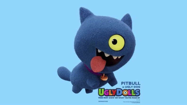 "Pitbull in ""UglyDolls"" movie"